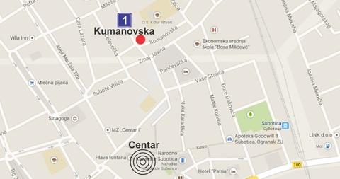 Kumanovska 1