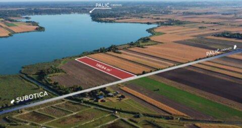 Palics,Építési földterület